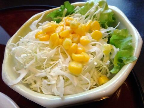 コ-ヒ-セットのサラダ