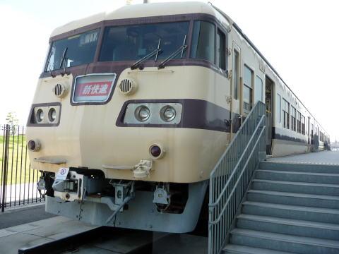リニア鉄道館の飲食できる電車