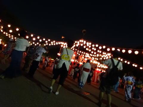 名古屋城の盆踊り