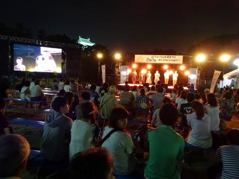 名古屋城宵まつりステ-ジ