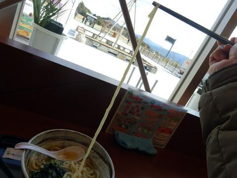 奥方梅うどんの麺