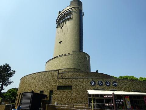 のんほいパークの展望塔