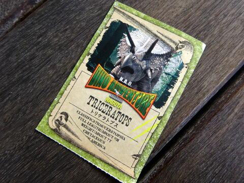恐竜カ-ド
