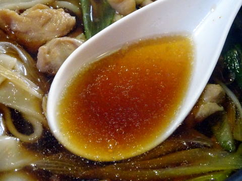 芋川うどんの汁
